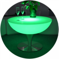 diaporama mobilier lumineux invisi Table Basse COCKTAIL